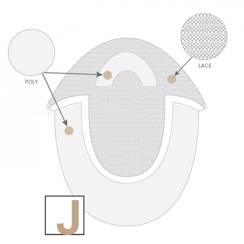 Complément capillaire U-Lace